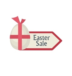 Easter sale arrow vector