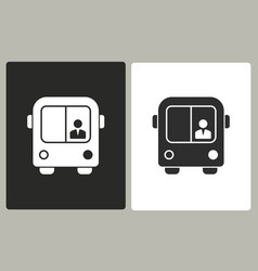 Bus - icon vector