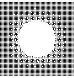 Decorative frame with copy space for text pixel vector