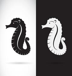 Sea horse design vector