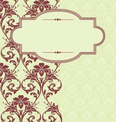 Christmas pattern and frame vector
