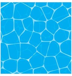Pool or tropical sea water texture vector