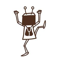 A robot vector
