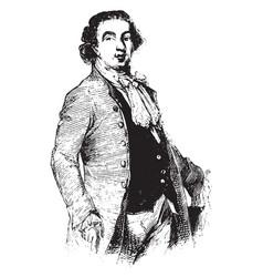 Augustus henry fitzroy duke of grafton vintage vector