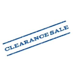 Clearance sale watermark stamp vector