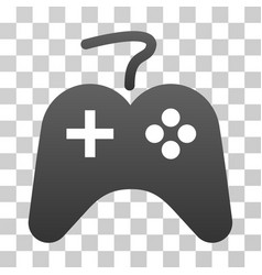 Gamepad gradient icon vector
