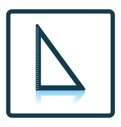 Icon of Triangle vector image vector image