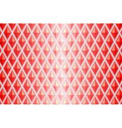red diamond shaped quadrangle vector image vector image
