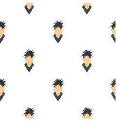 Singer pattern seamless vector