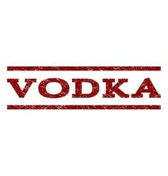 Vodka watermark stamp vector