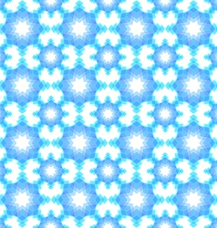 Abstract snowflake puzzled seamless pattern backgr vector image