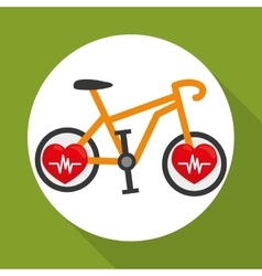 Flat of healthy lifestyle design vector