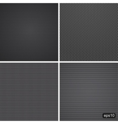 Carbon dark texture vector