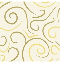 abstract colored swirls seamless pattern vector image vector image