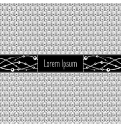 Template for text vector image vector image