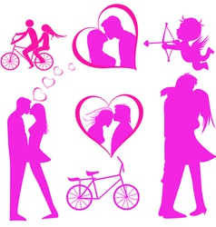 Valentines day icon vector image vector image