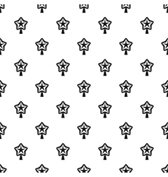 Christmas star pattern simple style vector