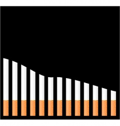 Cigarette graph vector