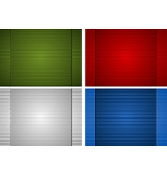 Striped paper background vector