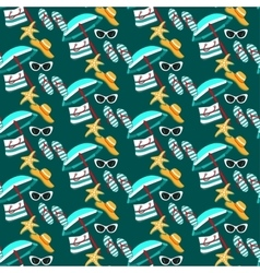 Summer holidays pattern vector