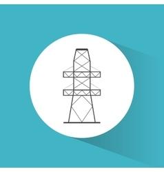High voltage power electricity symbol vector
