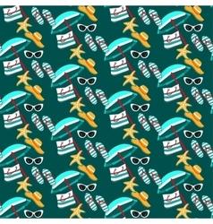 Summer holidays pattern vector