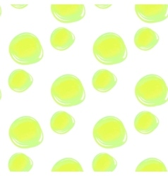 Watercolor circles seamless pattern colorful vector