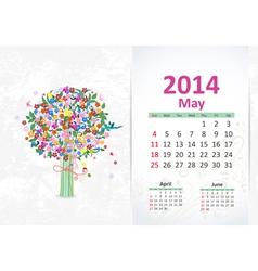 Calendar 2014 3 05 vector