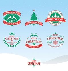 Christmas 02 01 vector image vector image