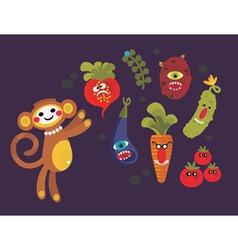monkeydo vector image
