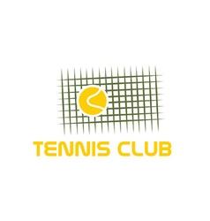 Tennis club vector