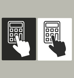 Calculator - icon vector