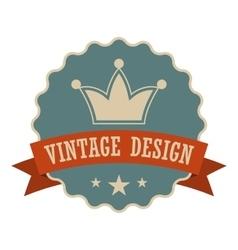 Retail vintage design banner vector image vector image