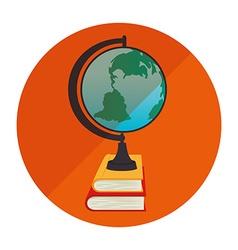 school supplies icon vector image vector image