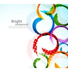 Colorful background with arrows vector