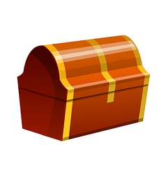 Icon treasure box vector