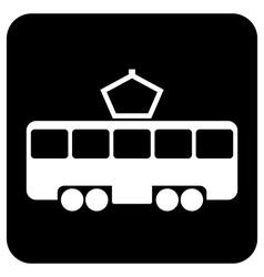 Tram vector image