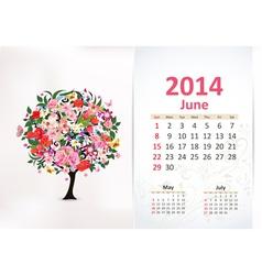 Calendar 2014 3 06 vector