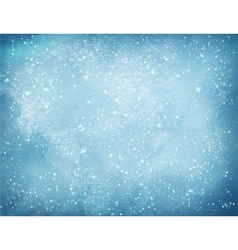 Christmas background with falling snow vector image vector image