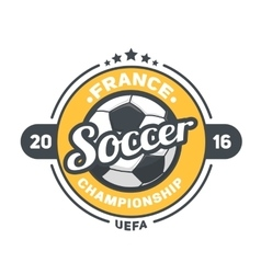 Football uefa 2016 background vector