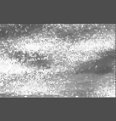 Vintage halftone background vector