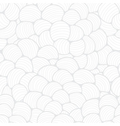 Seamless abstract wave hand-drawn pattern vector image