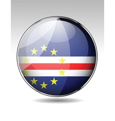 Flag button design elements vector image vector image