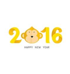 Happy new year 2016 vector
