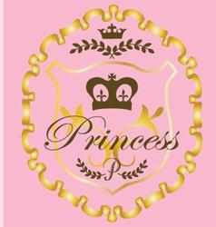 Princess graphic vector