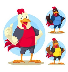 The Rooster vector image