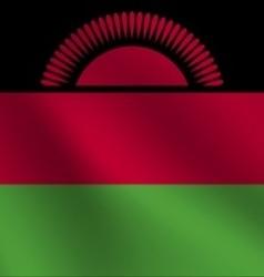 Malawi flag vector
