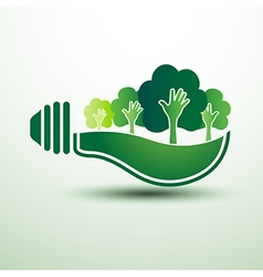 Green idea vector