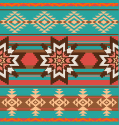 Ethnic ornament seamless pattern vector