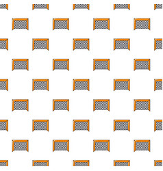 Hockey gate pattern seamless vector